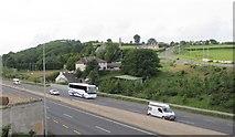 J0717 : North-bound traffic on the N1 at Flurry Bridge by Eric Jones
