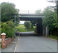 SO0328 : A40 bridge over Ffrwdgrech Road, Brecon by Jaggery
