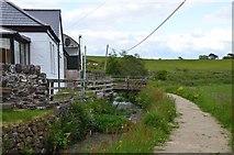 NS2472 : Greenock Cut at Shielhill farm by Jim Barton
