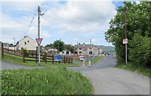 J0115 : The southern end of Main Street, Forkhill by Eric Jones