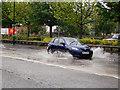 SD7806 : Flooding on Pilkington Way by David Dixon
