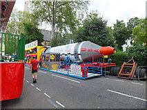 TQ2978 : The Astro-Linder X10 in St Georges Square Pimlico by PAUL FARMER