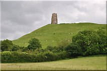 ST5038 : Glastonbury : Glastonbury Tor by Lewis Clarke