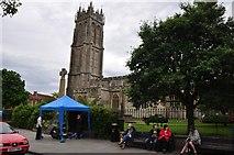 ST5038 : Glastonbury : Church of St John the Baptist by Lewis Clarke