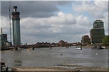 TQ3078 : River Thames:  Vauxhaull Bridge by Dr Neil Clifton