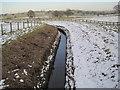 NY9876 : Watercourse near Hallington by Les Hull