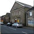 SS8592 : Kingdom Hall of Jehovah's Witnesses, Nantyffyllon  by Jaggery