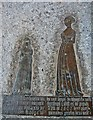 TQ7126 : Brass of Elizabeth Etchingham and Agnes Oxenbrigg, Etchingham church by Julian P Guffogg
