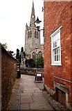 SK8608 : Oakham, Rutland (Parish Church) by David Hallam-Jones