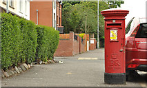 J3479 : Pillar box, Whitewell, Belfast by Albert Bridge