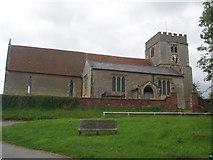 SU4980 : St Mary's church East Ilsley by Bikeboy