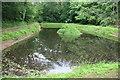 SO7191 : Daniel's Mill, Eardington - the upper millpond by Chris Allen