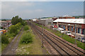 NZ2655 : East coast main line passing Birtley by Trevor Littlewood
