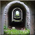 NG5534 : Under the calcining kilns by John Allan