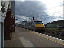 NT9953 : Platform 2, Berwick Railway Station by JThomas