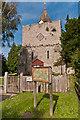 TQ8253 : St Nicholas' Church, Leeds by Ian Capper