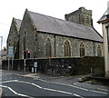 SN4020 : Grade II listed Christ Church, Carmarthen by Jaggery