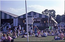 TQ2472 : Wimbledon 1988 - Picnic area in Aorangi Park by Barry Shimmon