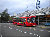 SO9496 : Bus in Bilston bus station by Richard Vince