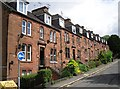 NX9675 : Flats on a hill, Church Street by Rose and Trev Clough