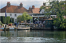 SU9079 : Waterside Inn at Bray, near Maidenhead by Peter Tarleton