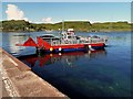 NM7514 : The Luing ferry from the slipway at Cuan by Walter Baxter