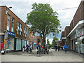 SK4155 : Pedestrian zone, Alfreton by Pauline E