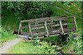 SH6805 : Bridge Across the Stream, Bryn Eglwys, Gwynedd by Peter Trimming