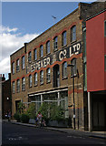 TQ3283 : Diespeker Wharf, Graham Road, Islington by Julian Osley