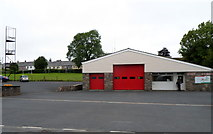 SN9768 : Rhayader Fire Station by Jaggery