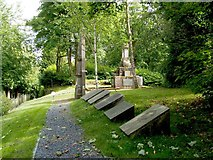NS2676 : Site of the Highland Mary Monument by Lairich Rig