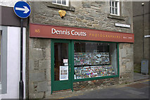 HU4741 : Dennis Coutts Photographers, Commercial Street, Lerwick by Mike Pennington