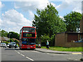 TQ5393 : A 294 bus at terminus of route by Robin Webster