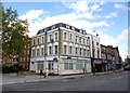 TQ2884 : Kentish Town, police office by Mike Faherty