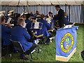 SU9746 : Epsom and Ewell Silver Band by Colin Smith