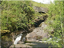 SH7357 : Pont Cyfyng by Peter S