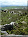 SK2483 : Stanage Edge - escarpment stretching into the distance by Andrew Hill