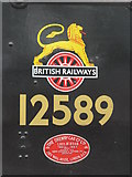 SK4175 : British Railways insigna by Dave Pickersgill