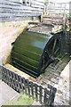SJ4553 : Stretton Mill - waterwheel by Chris Allen
