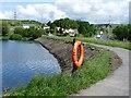 SO1009 : Bute Town Reservoir, Rhymney by Robin Drayton