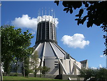 SJ3590 : Liverpool Metropolitan Cathedral in 2005 by Ruth Riddle