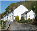SO2706 : Side view of Grade II* listed Forge Row Cottages, Cwmavon by Jaggery