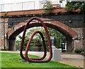 SJ8497 : Through an arch, under an arch by Gerald England