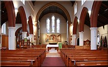 TQ3068 : St Philip, Beech Road, Norbury - East end by John Salmon