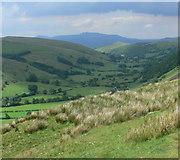 SH9124 : View north into Cwm Cynllwyd by Mat Fascione