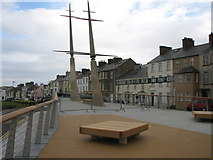 C8540 : Boat sculpture, Portrush by Willie Duffin