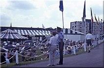 TQ2472 : Wimbledon 1991 - Aorangi Park (2) by Barry Shimmon