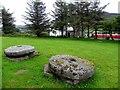 B9202 : Mill stones, Fintown by Kenneth  Allen