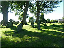 NZ0772 : The Parish Church of St Mary the Virgin, Stamfordham, Graveyard by Alexander P Kapp