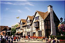 SP2055 : Shakespeare's birthplace pictured in 1999 by Ruth Riddle